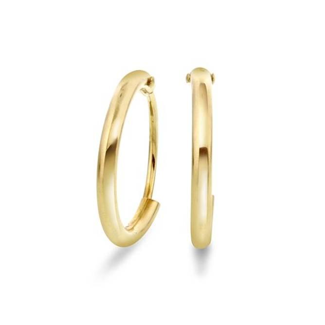 Bilde av Gull øreringer 11mm