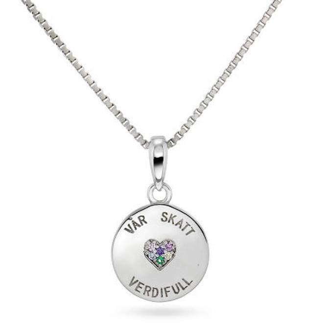 Bilde av Smykke i sølv, 'Vår Skatt'