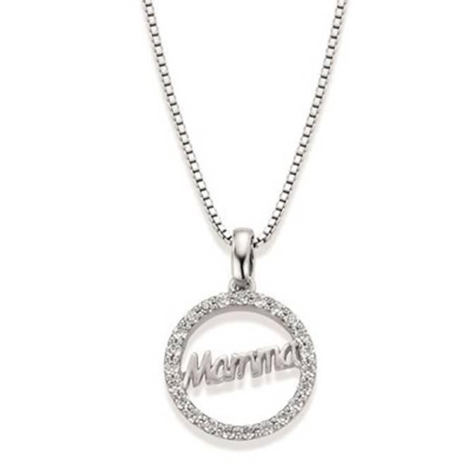 Bilde av Mamma smykke, sølv