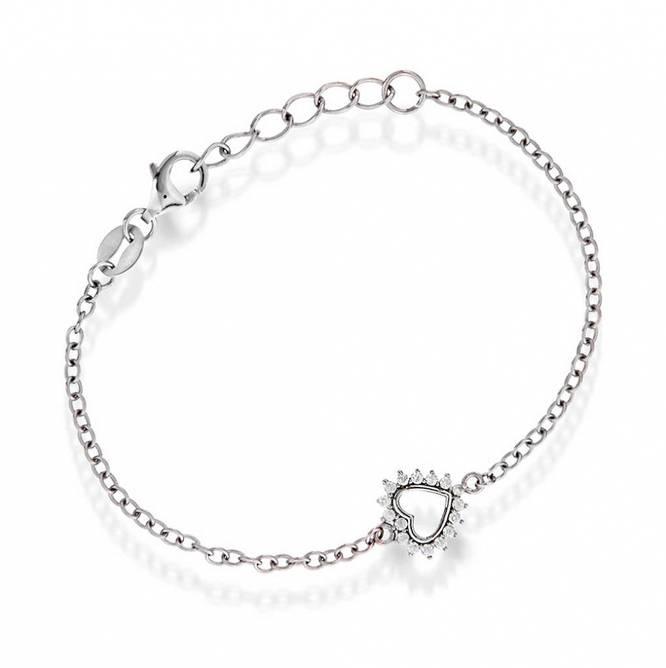 Bilde av Armband i sølv, hjerte